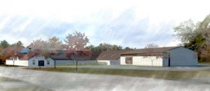 Architects rendering of new addition