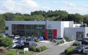Nissan Dealership Exterior View